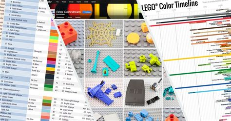 lego colors lego 174 colour chart reference new elementary a lego