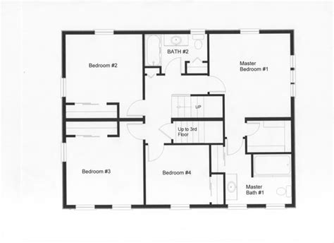 house with attic floor plan 4 bedroom floor plans monmouth county ocean county new