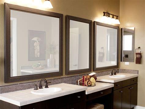 custom bathroom mirror frames bathroom mirror frames home design ideas