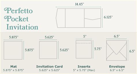 6 in by 10 in card template diy wedding invitations guide cards pockets