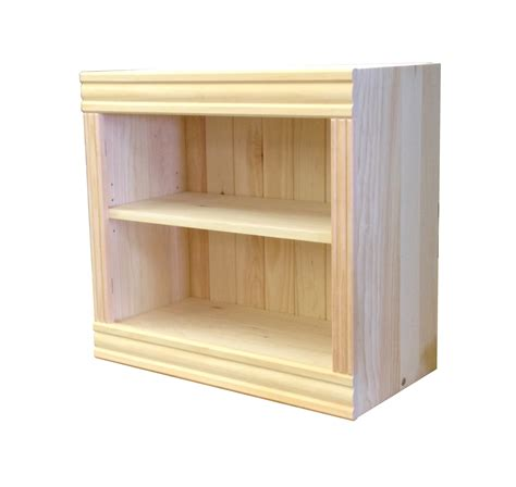 unfinished wood bookshelves bookcases unfinished pine deluxe frame mouldings
