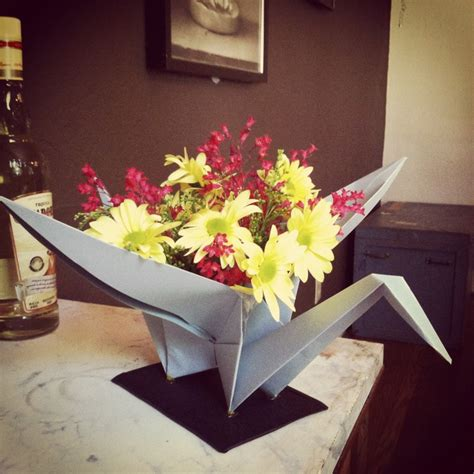 Origami Crane Centerpiece - 79 best images about origami baby shower on