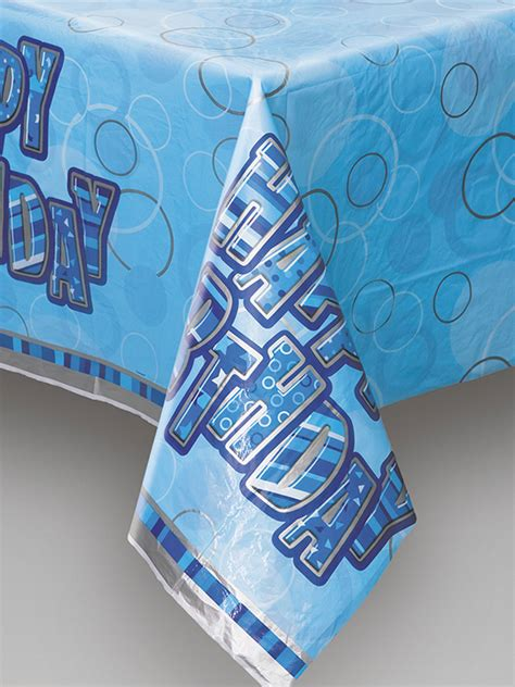 printed plastic table covers blue plastic printed table cover novelties