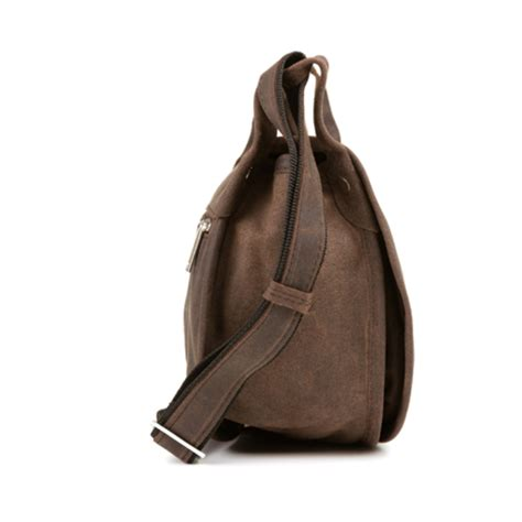 vooc leather saddle bag