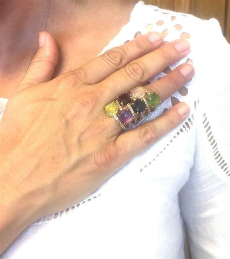 pomellato baby pomellato baby peridot gold ring at 1stdibs