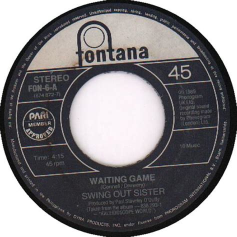 swing out sister waiting game swing out sister waiting game records lps vinyl and cds