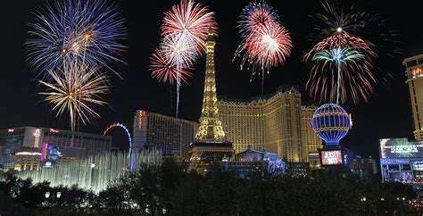 new year 2016 las vegas celebration las vegas fireworks