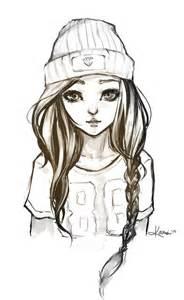 hipster drawing ideas google zoeken meisje