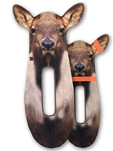 ultimate predator bow mounted elk stalker decoy elk