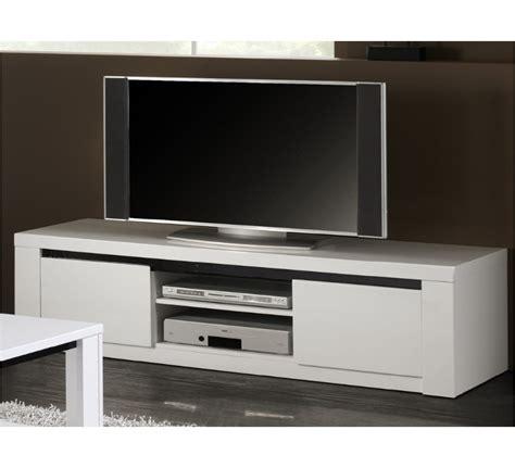 agréable Meuble Bibliotheque Fly #5: meuble-tv-blanc-noir.jpg