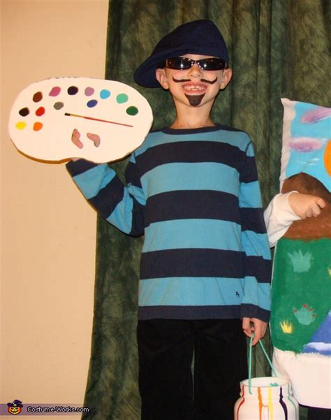 house painter costume artist and his masterpiece creative halloween costumes for kids photo 2 3