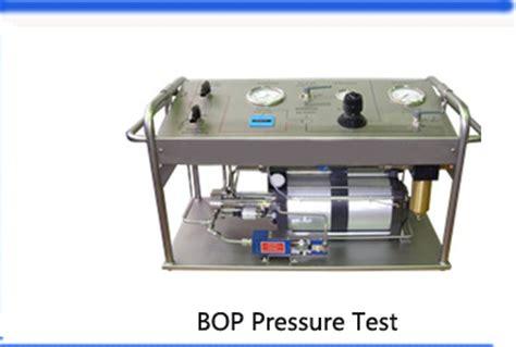hydrostatic test bench customized 2500bar portable hydrostatic test unit oil