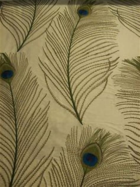 peacock feather curtain fabric details about gorgeous 100 curtain silk with embroidered