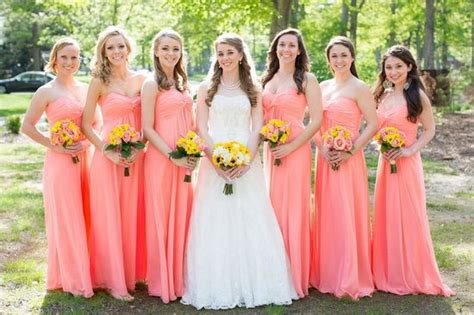 coral colored table ls 172 best images about coral wedding on