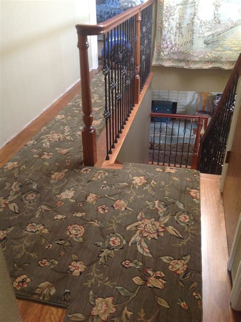 how to secure rug to carpet carpet runners hardwood flooring the marriage