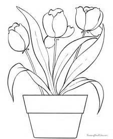 for coloring tulip coloring pages for az coloring pages