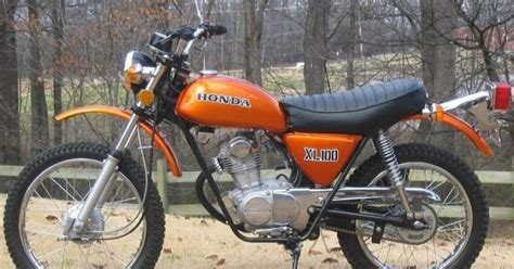 honda xl100 motorcycle complete wiring diagram all about