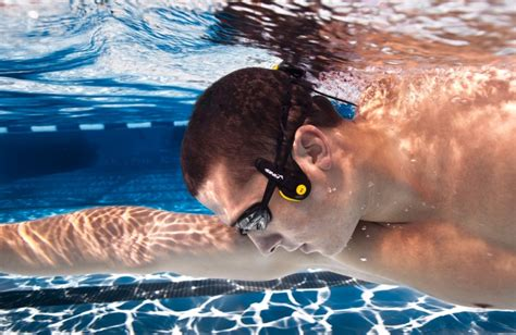 top  waterproof headphones  swimming water resistant