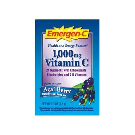 c energy drink mix buy emergen c energy booster instant drink mix at