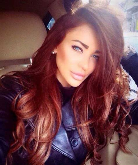 whats the style for hair color in 2015 30 best auburn hair styles long hairstyles 2017 long