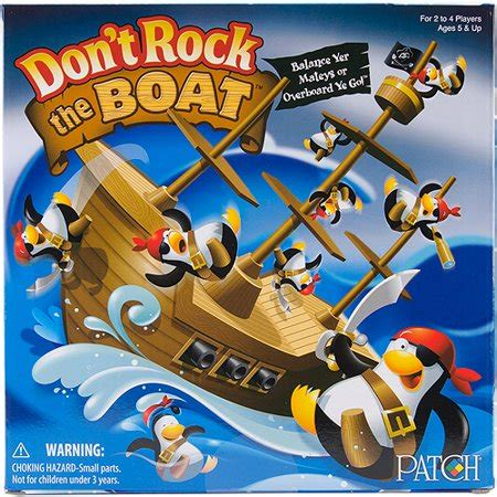 don t rock the boat game canada 093514069496 upc patch products inc don t rock the boat
