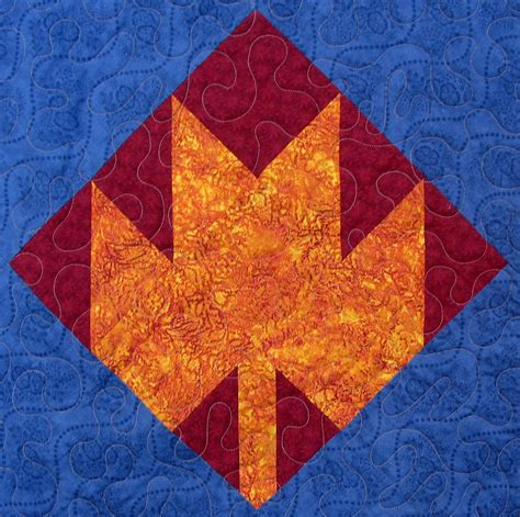Maple Leaf Quilt Pattern by Starwood Quilter Maple Leaf Quilt Block And Pumpkin Day