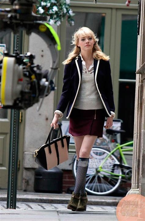 emma stone quits spiderman 1000 images about estilo gwen stacy on pinterest gwen