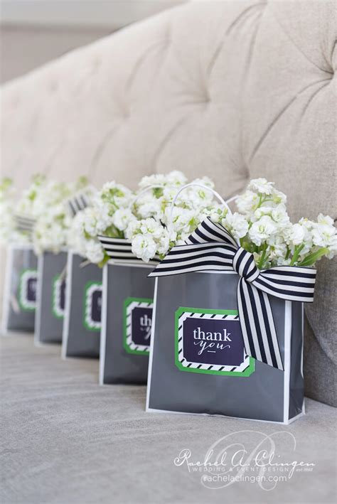 wedding shower gift bags a beautiful bridal shower at the styleshoot wedding decor toronto a clingen