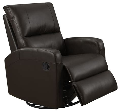 swivel recliner chairs contemporary recliner swivel glider bonded leather contemporary