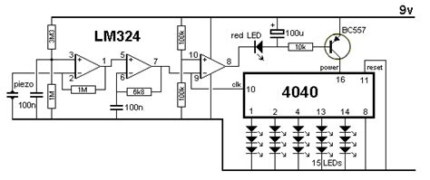 effect of capacitor on led electronic circuit diagram the domino effect
