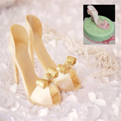 silicone shoe cake decorating mold