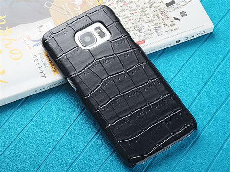 Samsung S7 Edge Crocodile samsung galaxy s7 edge crocodile leather back