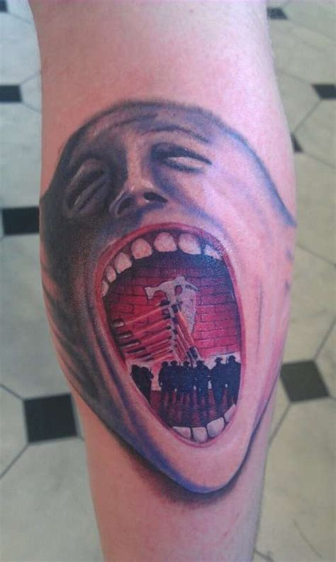 pink floyd the wall tattoo designs pink floyd the wall screaming