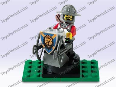 Lego Part Yellow Minifig Moustache Curly Gray Streaks In Hair lego 4811 defense archer set parts inventory and