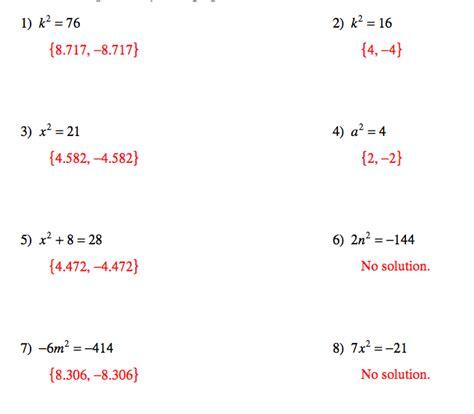 printables quadratic equations worksheet ronleyba