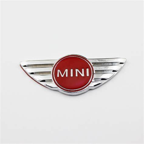 Emblem Mini Cooper Europe 3d metal car truck decor emblem badge bmw mini cooper sticker stainless steel 2378