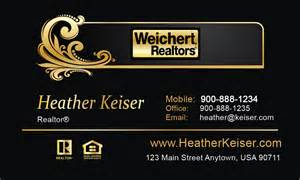 weichert realtors business cards weichert realtors business card template printifycards