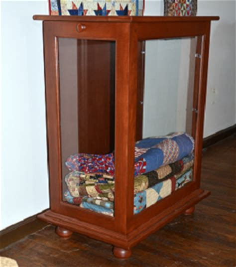 Quilt Display Cabinet by Quilt Display Cabinet Dwr Custom Woodworking