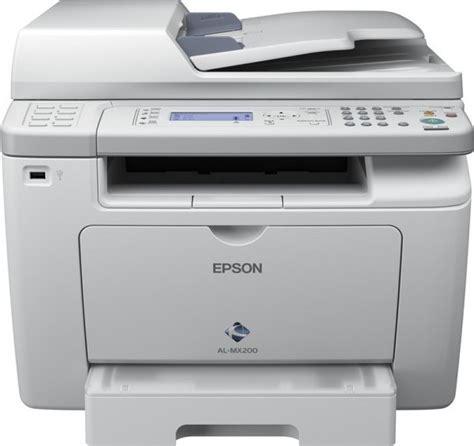 Printer Epson Laserjet epson workforce al mx200dnf all in one mono laser printer