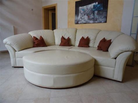 couchgarnitur leder italienisch italienisches leder designer rundsofa nieri in bochum