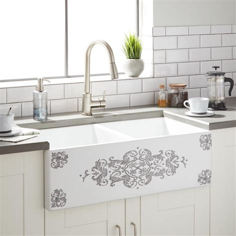 farmhouse sink with high backsplash 36 quot bowl farmhouse sink with high