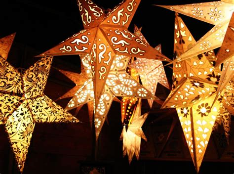 christmas lights journal star lights in india color golden touch paper lanterns and
