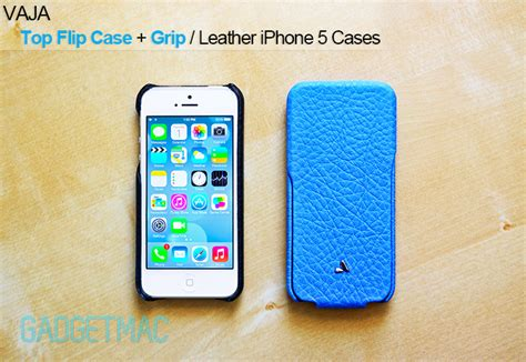 best leather iphone 5 cases vaja top flip grip leather iphone 5 review