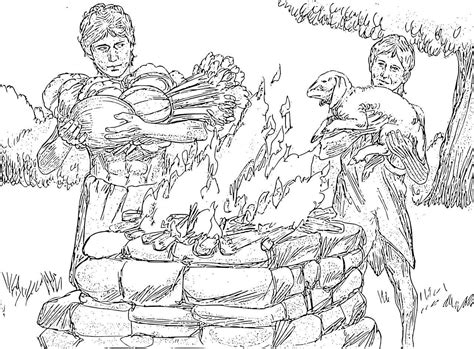 adam and eve cain and abel coloring page adam eve cain abel coloring pages coloring pages