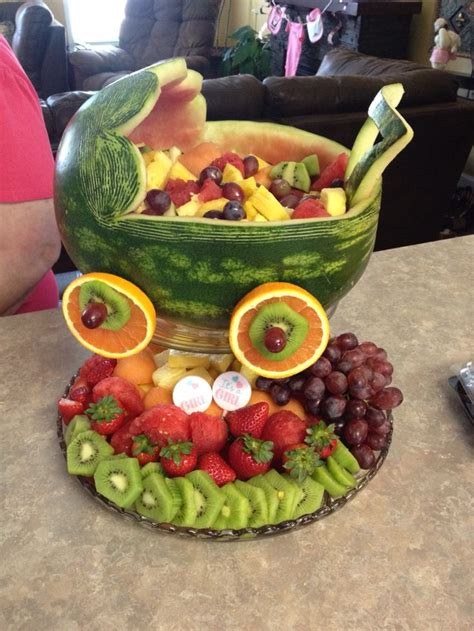 Baby Shower Carriage by Watermelon Baby Carriage Baby Shower Ideas
