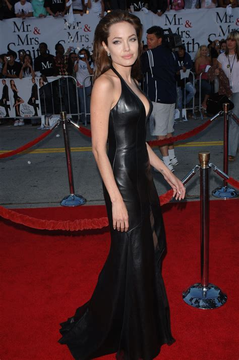 Dress Mrs Black 2005 in the leather gown leder