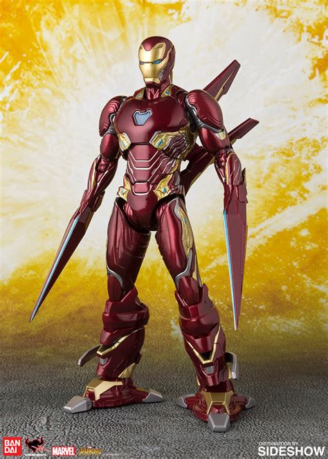 sh figuarts iron man mark nano weapon set sideshow