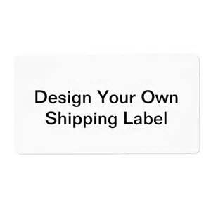 Design Your Own Shipping diy design your own personalized shipping labels zazzle