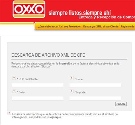 cadena comercial oxxo reimpresion de facturas como obtener facturas electr 243 nicas de 7eleven y oxxo