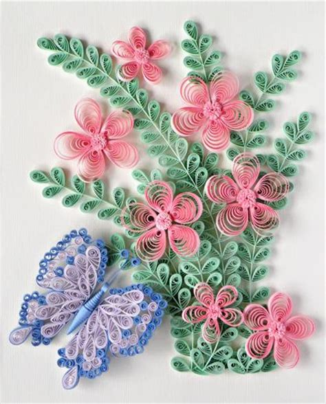 Origami Paper Quilling - paper quilling free patterns quilling butterfly and
